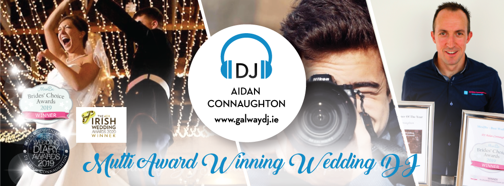 Dj Aidan Connaughton | Galway Wedding Dj